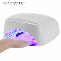 Healthsweet 60W Nail Dryer LED Ultraviolet Lamp Nails CCFL Curing for UV Gel Polish Nail Art Manicure Tools Timer Auto induction