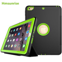 360 Full Protection Case For Apple Ipad 9 7 2017 Kids Safe Shockproof Heavy Duty TPU