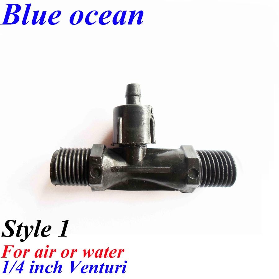 BO-0025V, 1/4 1/2 3/4 1 1,5 zoll 2 zoll gas wasser mixer für ozon beständig ozon generator teile venturi