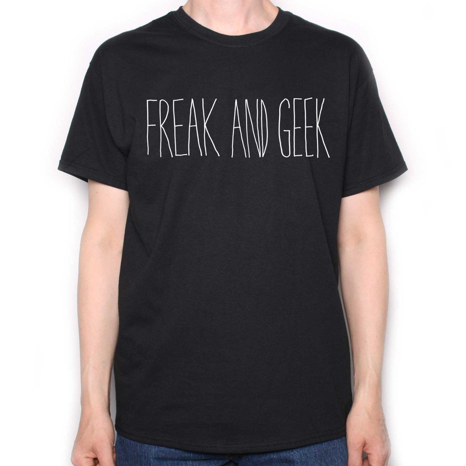 A Tribute To Freaks & Geeks T Shirt - Freak & Geek Cult TV Tribute Cheap wholesale tees Casual Short Sleeve TEE mens tee shirts