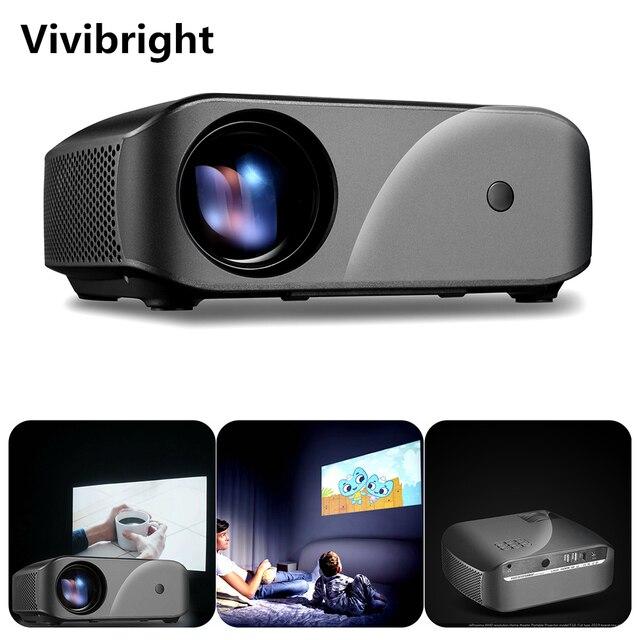 Vivibright F10 1280*720 Del Proiettore Led Supporto per La Risoluzione Full Hd Home Cinema Mini Proiettore Portatile per 3D Beamer Hd proyector