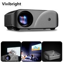 Vivibright F10 1280*720 projektor led rozdzielczość wsparcie Full HD kino domowe MINI przenośny Proyector dla 3D beamer HD Proyector
