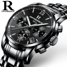 Small Dial Work Waterproof Luminous Men Watches Top Brand Luxury Men's Quartz-watch Wrist Watches Relogios Homens