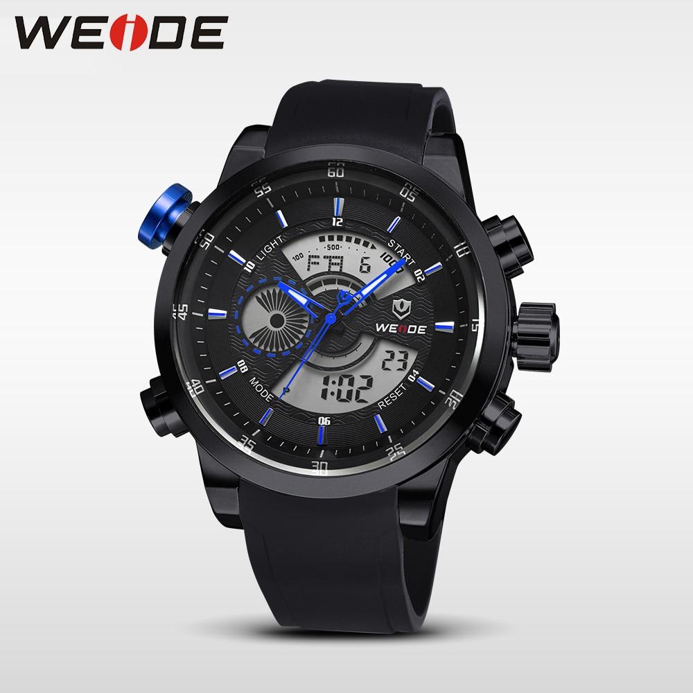 WEIDE Relojes Hombres Marca de Lujo Deporte Ejército Ejército Reloj - Relojes para hombres - foto 2