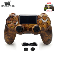 DATA FROG Wireless Bluetooth Gamepad Game Controller for Sony PS4 Controller for Dualshock 4 Joystick for PlayStation 4 Console