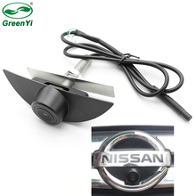 CCD HD Night Vision Front View Camera Vehicle logo Camera For Nissan X Trail Tiida Qashqai Livina fairlady Pulsar Cube Armada