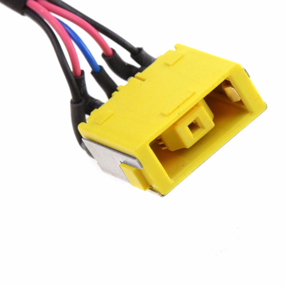 Notebook Replacement DC Power Jack Socket Harness Cable Fit For Lenovo G500S G505S VILG1 DC30100PC00 Laptops Connector original new laptop ac dc power in jack socket cable wire harness connector for hp pavilion dv6 6000 dv7 6000 50 4rn09 001