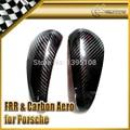For PORSCHE Boxster 987 Cayman S Carbon Fiber Side Mirror Cover 2pcs
