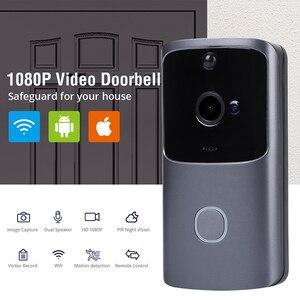 Image 2 - LeadEdge Smart WiFi vidéo sonnette caméra interphone visuel avec carillon vision nocturne IP porte cloche sans fil caméra de sécurité à domicile