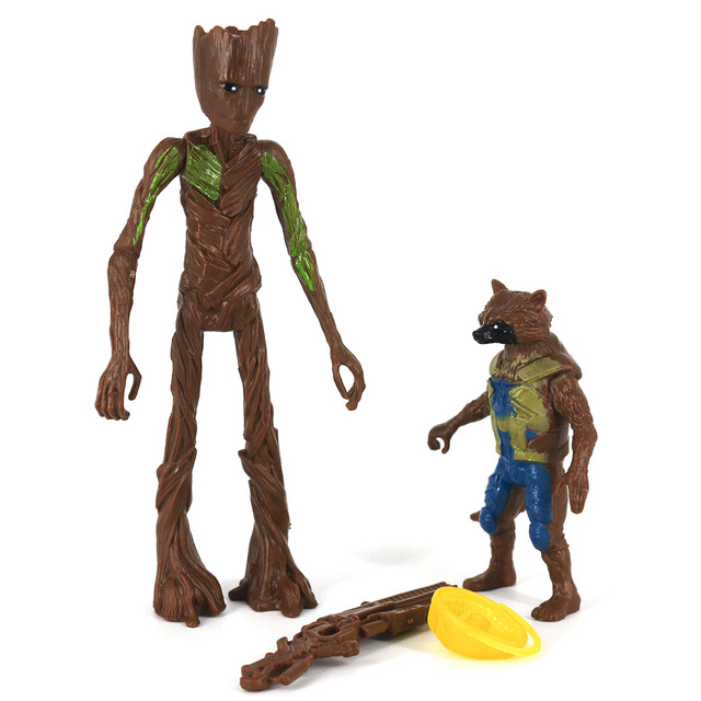 Rocket Raccoon and Groot Basic Action Figures The Avengers Endgame 3