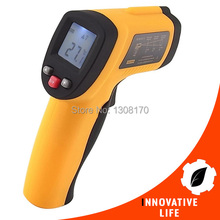 Best Buy Industrial Non-Contact 12:1 DS IR Laser Infrared Digital Thermometer + Laser Target Pointer -50~380 Celsius Degree Range