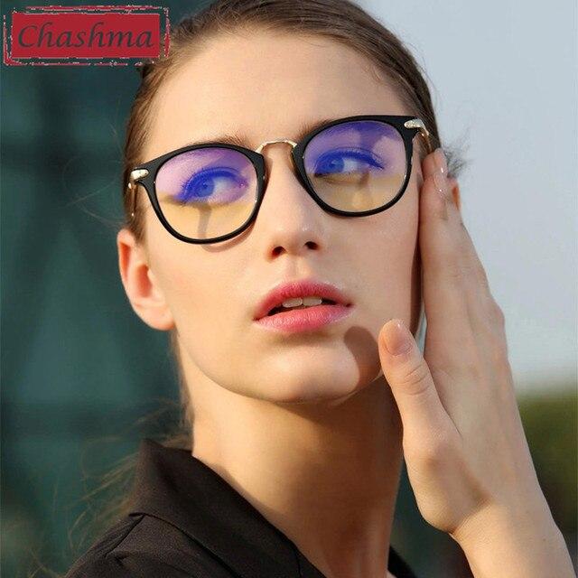 785f7de817 Chashma New Design Womens Optical Glasses Frames Round Retro Eye Glasses  Fashion Eyeglasses for Female