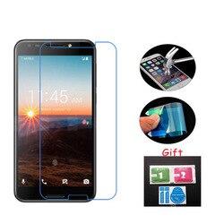3x para t-mobile revvl protetor de tela premium vidro temperado macio nano à prova de explosão película clara capa de proteção