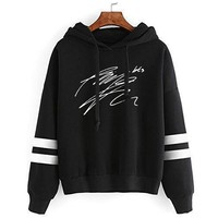 2018 Kpop Home New Bangtan Boys Bts Signature Handwriting Fans Club Personalized Cotton Uniform Men And