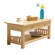Coffee Tables Living Room Furniture Home Furniture pine solid wood Coffee Table side table basse tea table mueble de salon sale(China)