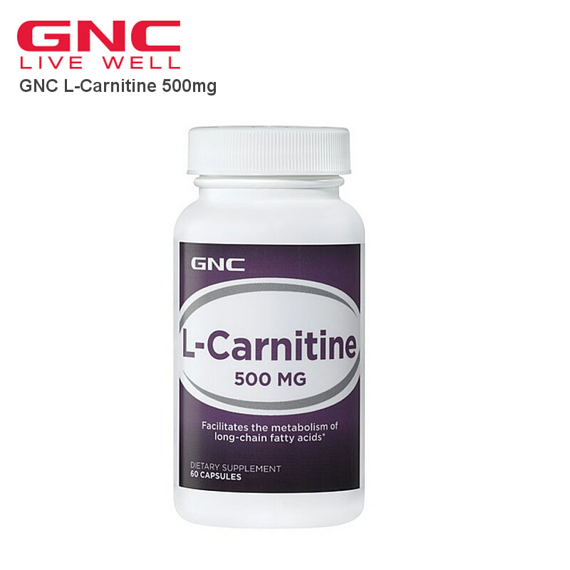 L-Carnitine 500mg 60 Capsules Free shipping