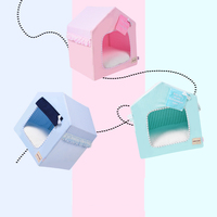 Folding Dog House Teddy house Pet Bed Cat Mats Easy carry Dog home Travel Used pet product
