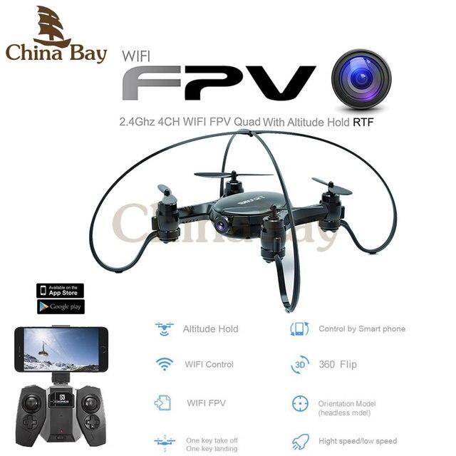 Новейшие FY603 Мини 4CH 6-осевой Летательный Аппарат С WiFi FPV Камеры 2.4 ГГц гироскоп Quadcopter Высота Удержания Режим Вертолет RTF Vs H37 Дрон
