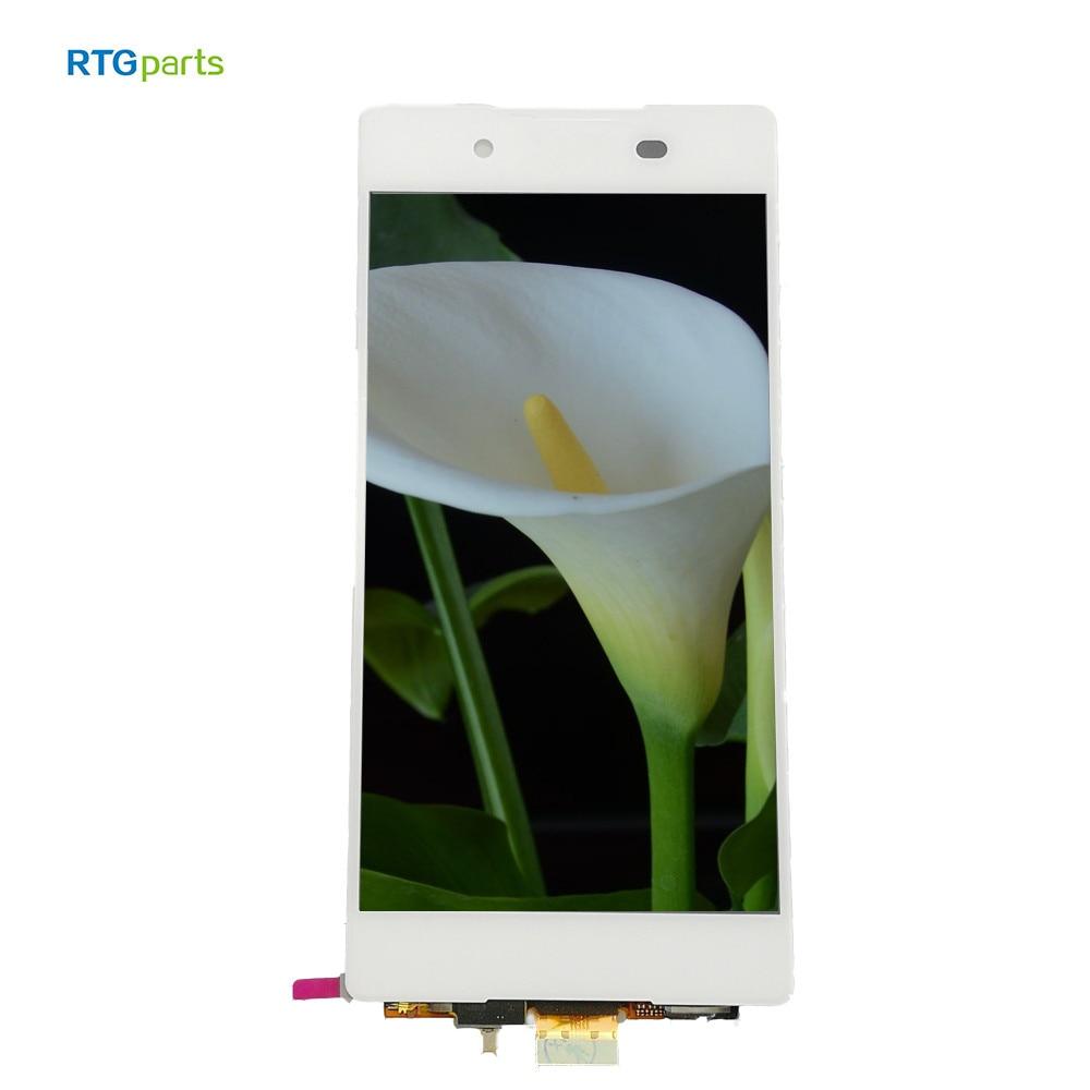 RTGparts IPS LCD capacitif écran tactile numériseur assemblée pour Sony Xperia Z3 Plus Z4 E6553 E6533