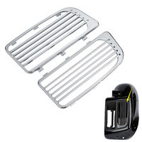 Chrome Radiator Grills For Harley Davidson Water Cooled Touring Electra Street Glide 2014 2018