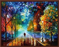 New 40x50cm Romantic Frameless Pictures Painting By Numbers DIY Digital Oil Painting On Canvas Beautiful Life