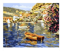 Framed Painting By Number Coloring By Numbers For Home Decor Wall Decor Picture Oil Painting On