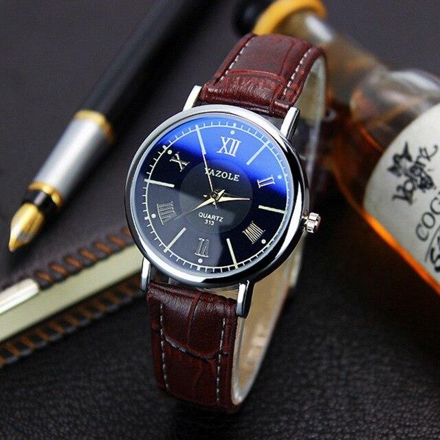 Yazole дамы известный наручные часы женские наручные часы Для женщин Марка часы кварцевые часы для Обувь для девочек кварц-Часы Montre Femme Relogio