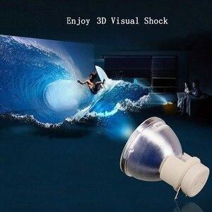 Image 5 - Compatible Projector Lamp 5J.JHN05.001 Bare Bulb for BenQ HT2550/TK800/TK800M/W1700 Replacement Bulb 240W P VIP 240/0.8 E20.8