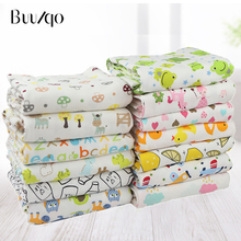 hot sale baby printed fabric 17 meters wide soft cotton knitted cloth baby clothes Bib  cotton cloth fabric