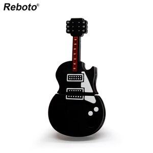 Image 2 - Instrument muzyczny pen drive skrzypce pamięć usb pendrive 4gb 8gb 16gb 32gb 64gb cartoon gitara pendrive u dysku prezent
