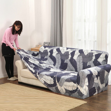 Kussenovertrekken Sofa strakke wrap all-inclusive antislip sectionele elastische volledige sofa Cover/handdoek Single/Twee /drie/Vier-zits(China)