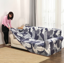Slipcovers sofá capa all-inclusive antiderrapante secional elástico cobertura completa sofá toalha único/dois/três/quatro lugares