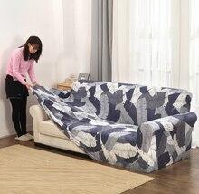 Stretch Slipcovers narzuta na sofę do salonu antypoślizgowa przekrój elastyczna kanapa pokrowiec na sofę ręcznik pojedynczy/dwa/trzy/cztery siedzenia