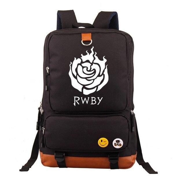 Anime RWBY Students School Bags Women Laptop Backpack Men Book Bag Unisex  Computer Bagpack 171cdd12b
