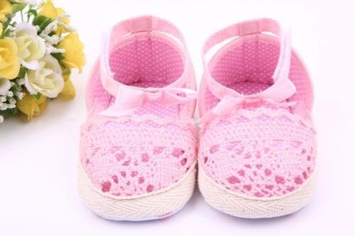 02620e7ae0082 Baby Girls Shoes Size 0-18 Months Soft AntiSlip Prewalker Newborn 3 Size