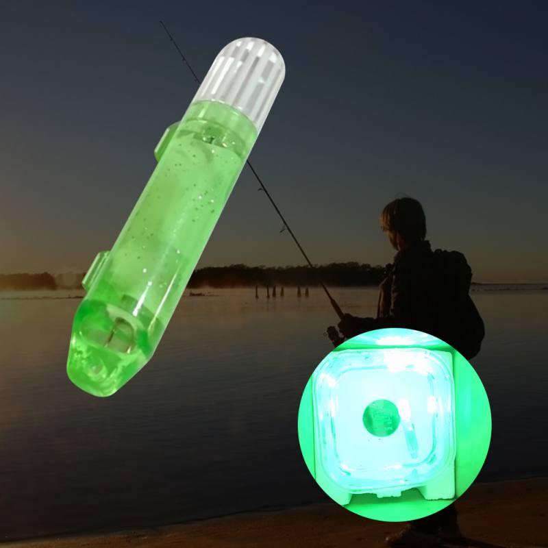 4 Colors Mini Underwater Fishing Lamp Lure LED Flashing Fishing Light Bait Lures Fishing Supplies