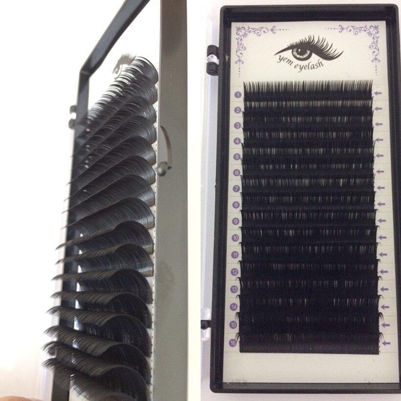 0.12mm LASH,16Rows,Faux mink individual eyelash extension, volume lashes extension for professionals,soft mink eyelash extension