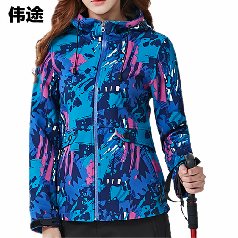 WEITU New Women's Camouflage Jackets Coats Outdoor Women Waterproof Softshell Camping Hiking Windbreaker Female Jackets Jaqueta new outdoor women multi function softshell hiking jackets outdoor camping coats thermal spring leisure sports female jacket