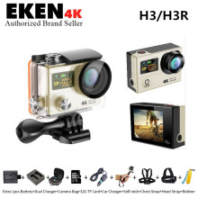 Original H3R Action Camera Ultra 4K HD 2.0″ Dual Screen Action video Camera Waterproof 170D Lens go pro Style sport camera+extra