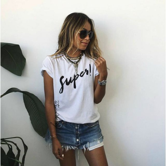 Summer Printed Tee Shirt