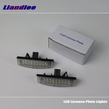 For Mitsubishi Pajero Sport / Pajero Montero Sport / LED License Plate Light / Number Frame Lamp LED Lights liandlee car tracing cauda laser light for mitsubishi pajero sport pajero dark 2008 2015 anti fog lamps rear lights