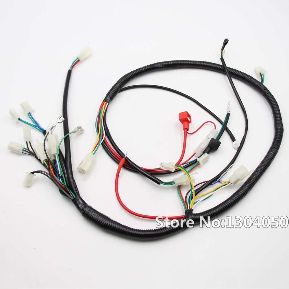 medium resolution of full electric start engine wiring harness loom gy6 125 150cc quad rh aliexpress com 150cc go kart wiring diagram 150cc buggy wiring diagram