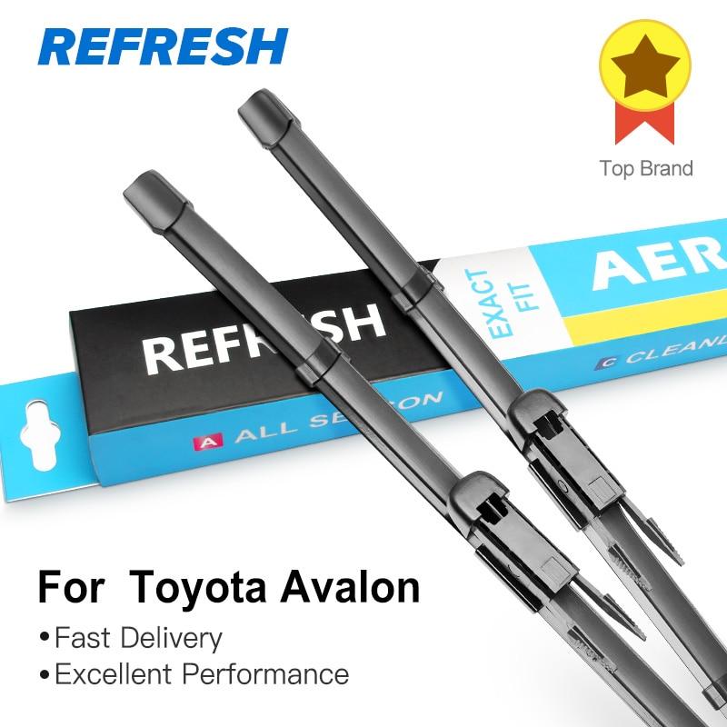 REFRESH ruitenwissers voor Toyota Avalon Fit Pinch Tab Arms / Hook - Auto-onderdelen