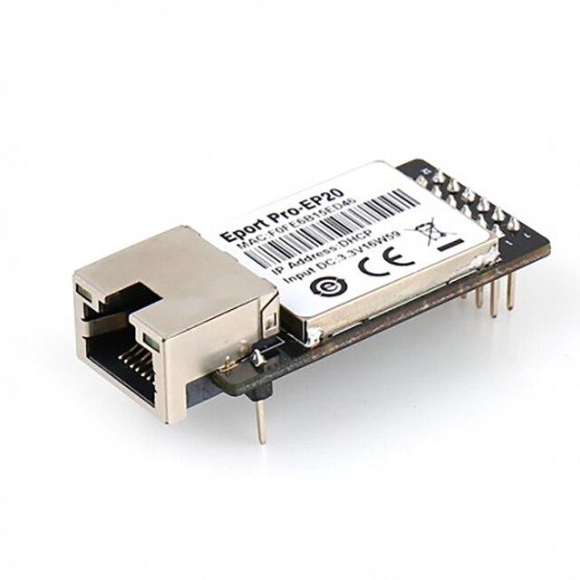 Pro-EP20 Linux Network Server Công Nghiệp Siêu Cổng TTL Nối Tiếp để Ethernet Nhúng TCP IP Telnet Modbus TCP ProtocolQ181