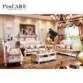 Wohnzimmer schnitts sofa aus echtem leder sofa set A935B-in Wohnzimmersofas aus Möbel bei