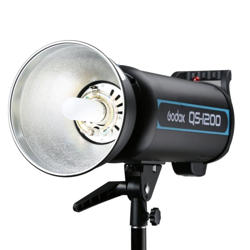 Godox QS-1200 1200W 1200Ws Photo Studio Flash Strobe Light Lamp,Godox Studio Flash Strobe