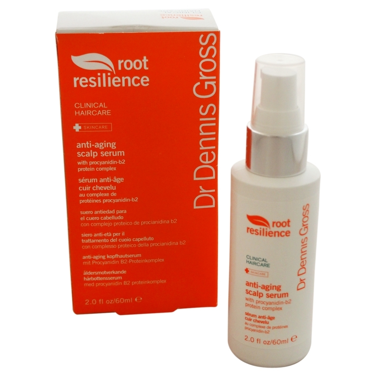 Dr. Dennis Gross U-HC-8640 Root Resilience Anti-Aging Scalp Serum for Unisex - 2 oz resilience in cambodia
