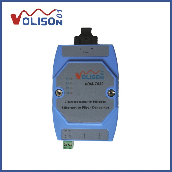 ADM 7032 Rail Type 1 Optical 2 Electrical Fiber Optic Transceiver Switch Opto electrical Converter 12V 24V|converter 12v|converter 12v 24v|converter 24v 12v - title=
