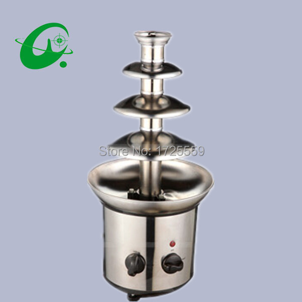 220V Electric 4 Layer Commercial Chocolate Fountain Machine, Home mini Chocolate fountain machine, Chocolate fountain maker
