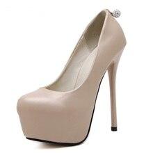 women high heels shoes 2017 nude pumps women party shoes platform pumps rhinestone wedding shoes stiletto heels dress shoes